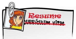 Modelo De Curriculum Vitae En Word Modelo Curriculum Vitae
